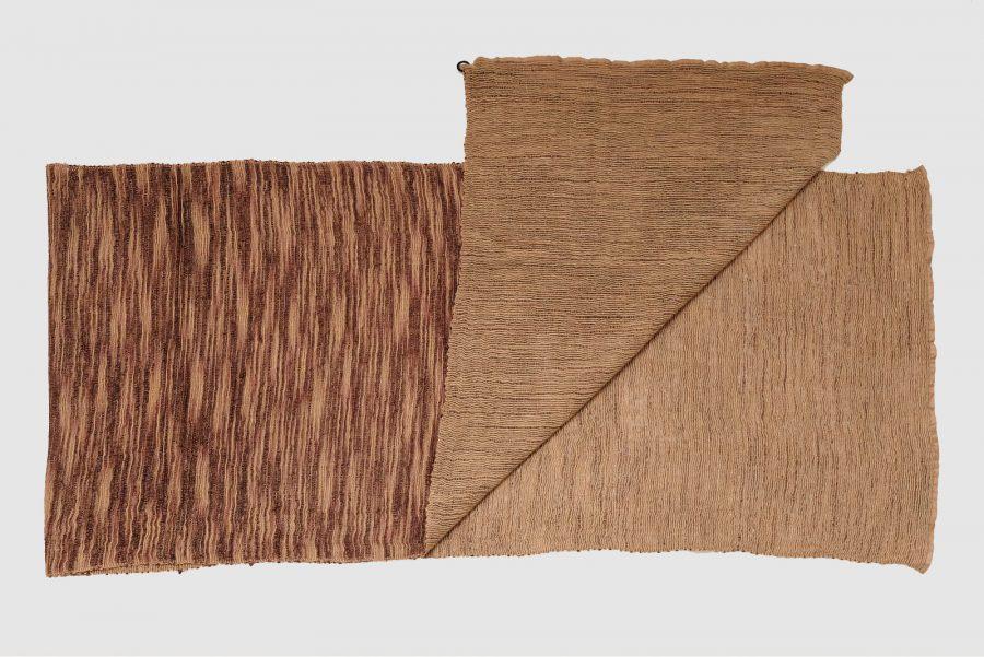 Handgefertigter Kaschmir Schal Indian Red Braun